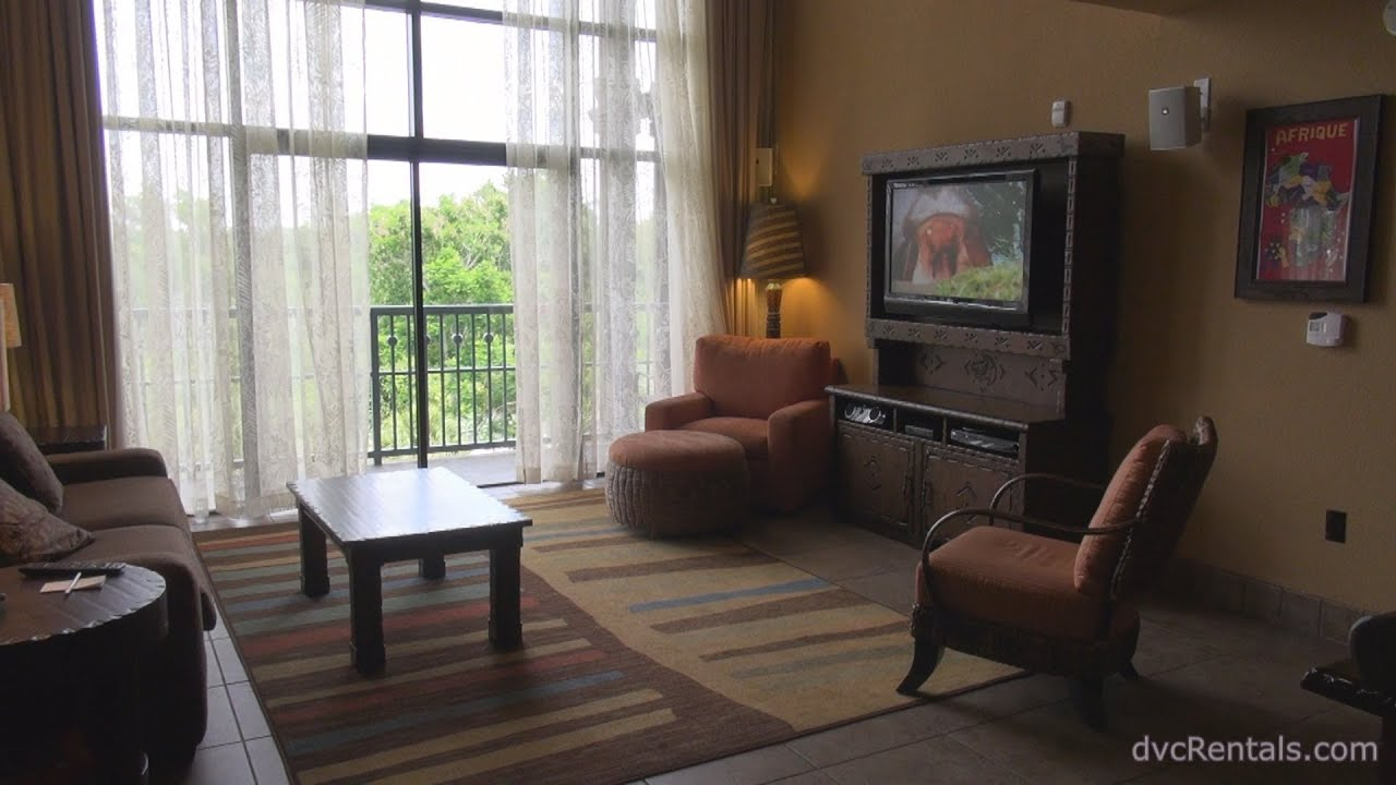 3 Bedroom Grand Villas At Disney World on Animal Kingdom Kidani Village 2 Bedroom Villa