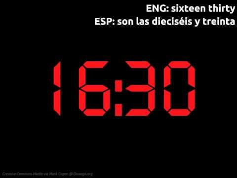 LEAF Spanish Phonic Flashcards: Telling Time (Digital / 24 Hour ...