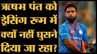 Worldcup में Shikhar Dhawan की जगह  इंग्लैंड गए Rishabh Pant क्या कर रहे हैं?