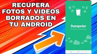 COMO RECUPERAR FOTOS Y VIDEOS BORRADOS DE MI TELEFONO ANDROID CON DUMPSTER PREMIWN/2021 screenshot 3