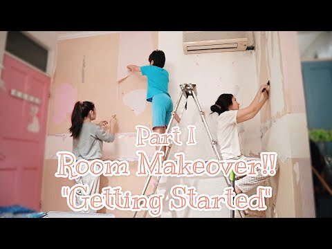 "My Room Makeover!! ""Getting Started"" Part 1"