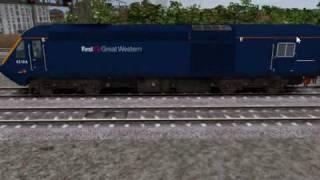 Rail Simualtor Class 43 HST