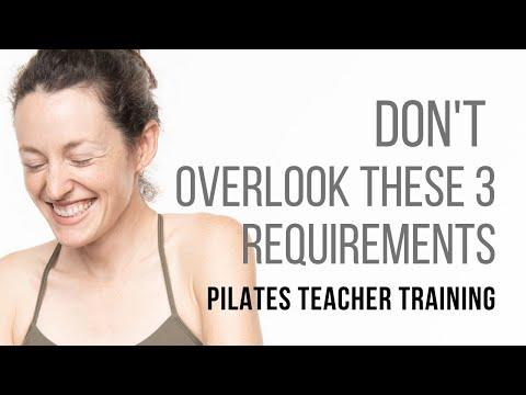 Pilates Teacher Training: 3 Overlooked Details When Picking A Program