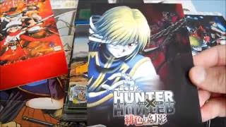 Unboxing  ~ Steins; Gate The Movie + Hunter X Hunter + Chaos Dragon ~ Anime DVD (German)