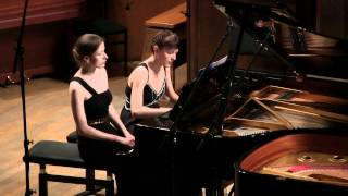 Mozart, Sonata in D for piano four hands, KV 381 (KV. 123a)