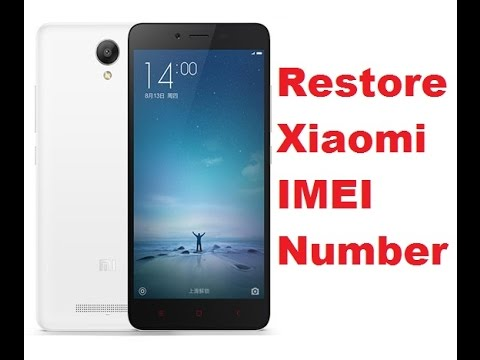 How to Fix IMEI Missing Xiaomi Redmi 4 Prime Without Unlock Bootloader and  No Root