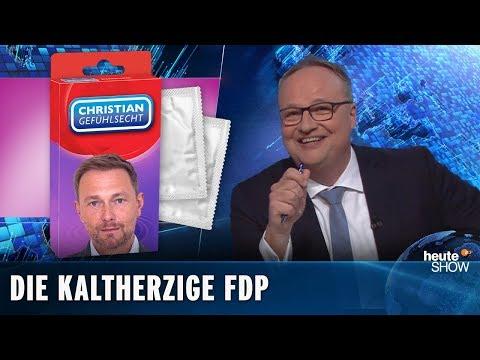 Neue Herausforderung: Die FDP will empathischer werden | heute-show vom 26.04.2019