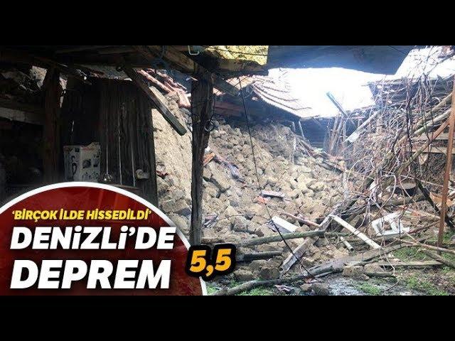 Denizli Valisi Hasan Karahan'dan Deprem Açıklaması