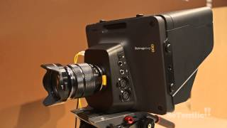 Blackmagic Design's Studio Camera at NAB 2014