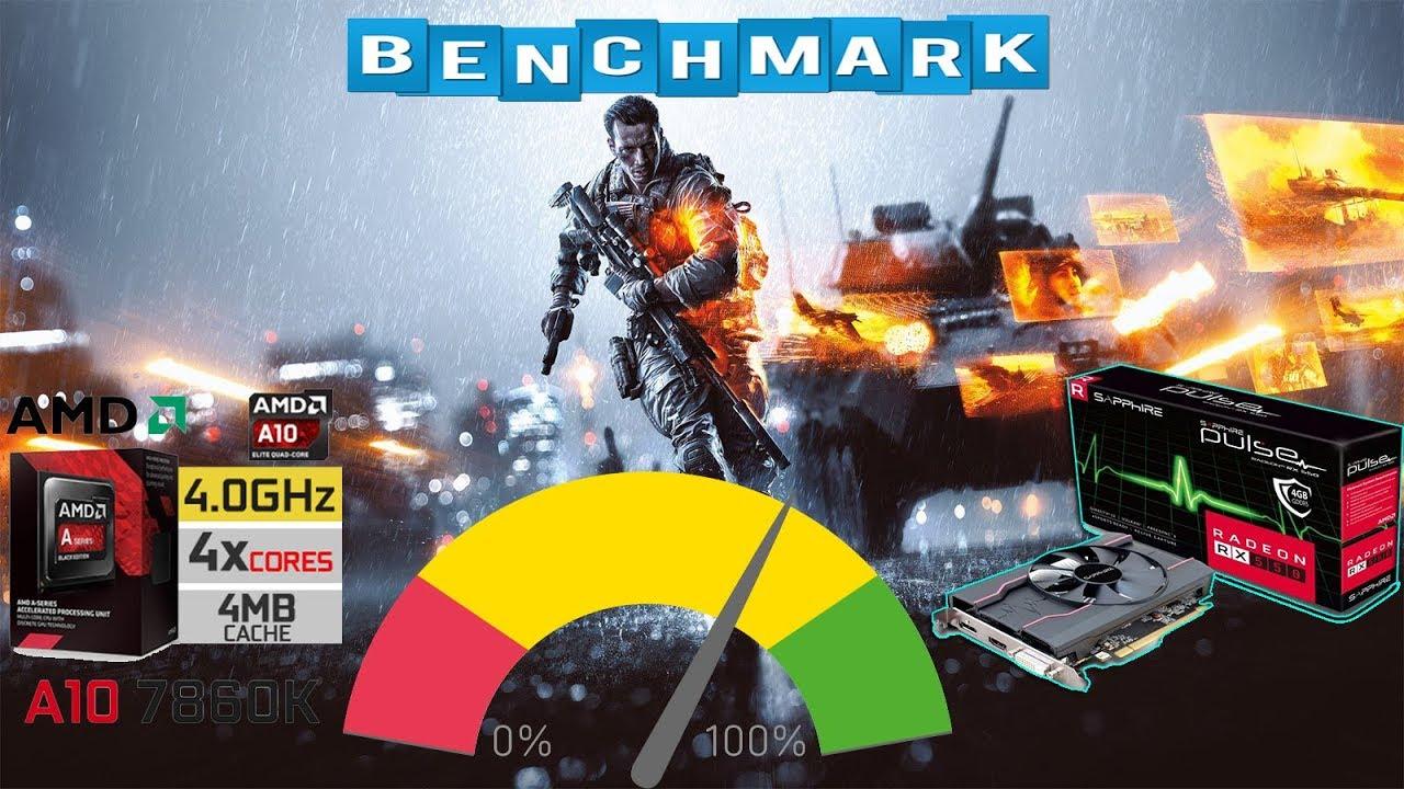 Benchmark Battlefield 4 AMD A10 7860K And Radeon RX550 4GB ...
