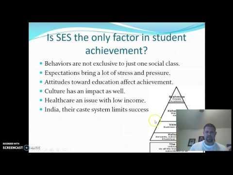 Does Socioeconomic Status affect Achievement?