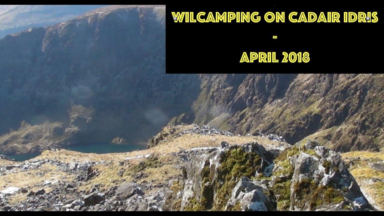 Wild Camping - Cadair Idris April 2018 - YouTube