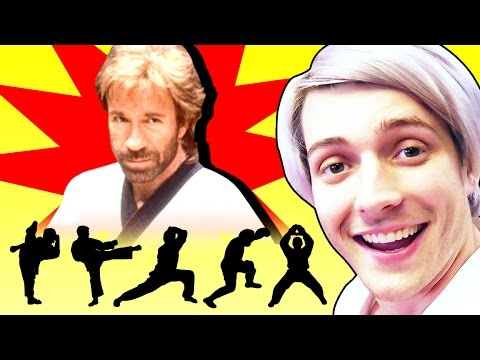 CHUCK NORRIS KARATE! (Cell Outs)