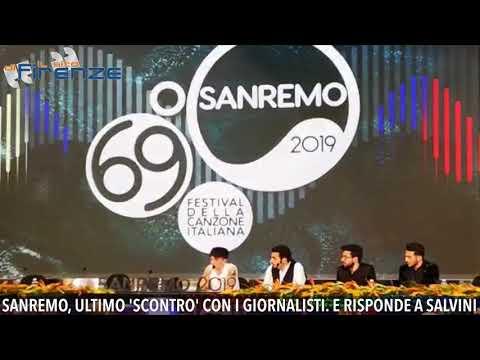 Festival di Sanremo, Ultimo si 'scontra' con i giornalisti. Poi risponde a Salvini