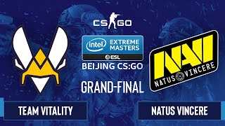 CS:GO - Natus Vincere vs. Team Vitality [Dust2] Map 2 - IEM Beijing 2020 Online - Grand-Final - EU