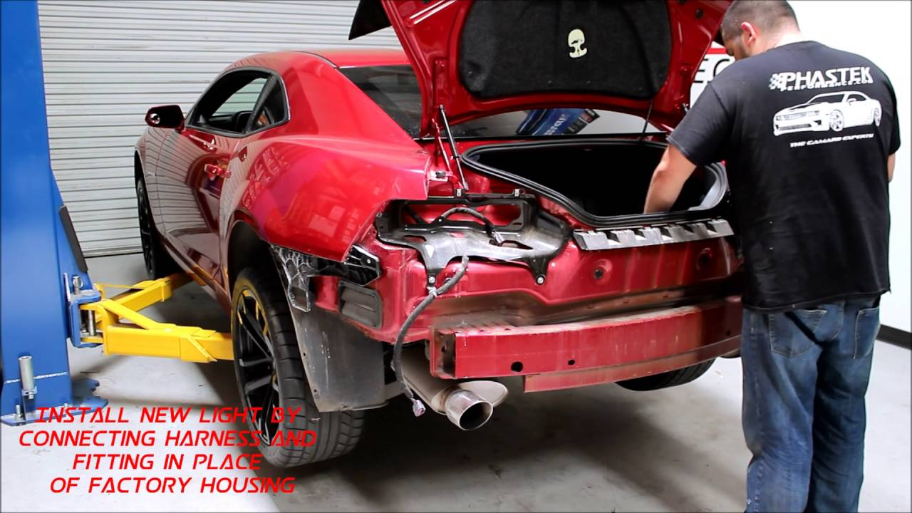 maxresdefault installation for the 2014 2015 non rs camaro taillights youtube  at gsmportal.co