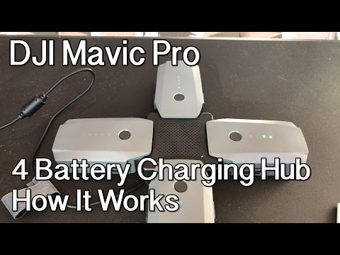 DJI Mavic Pro 4 Battery Charging Hub - How It Works