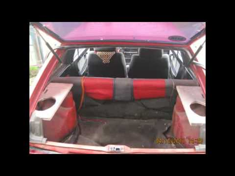 Рестайлинг багажника ВАЗ 2108