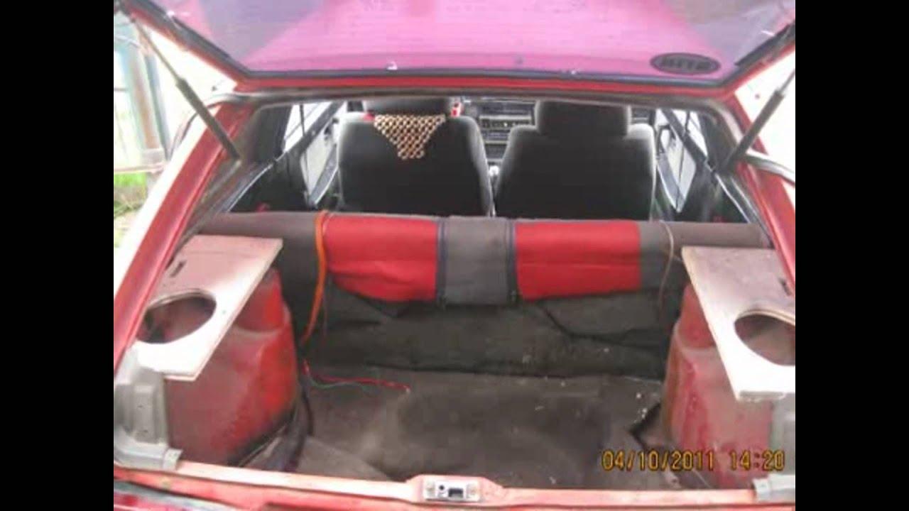 Рестайлинг багажника ВАЗ 2108 - YouTube