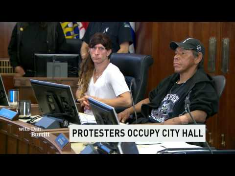CBC News: Activists disrupt Vancouver city council meeting to protest homelessness
