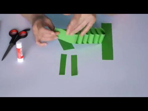 how to make paper crocodile art & craft