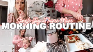 WINTER MORNING ROUTINE OF A SINGLE, STAY AT HOME MOM 2020| Tres Chic Mama