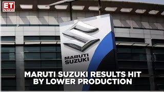 Maruti Suzuki results hit by lower production level but management hopeful for recovery from Nov