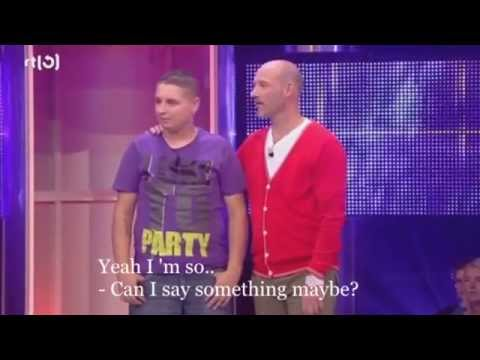 Johnny from The Hague in Take Me Out.