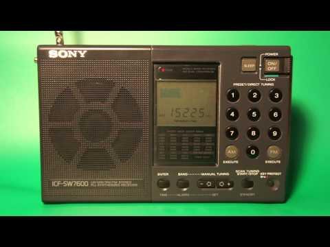Sony ICF-SW7600. Radio Taipei International