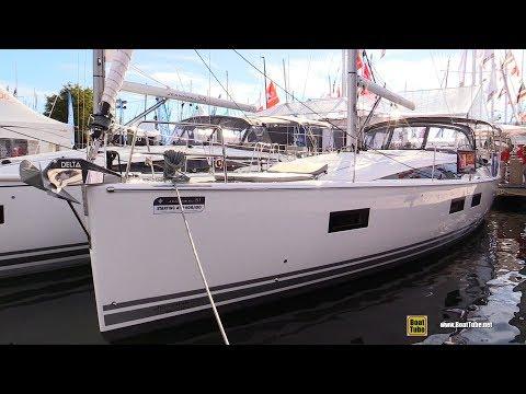 2017 Jeanneau 51 Sailing Yacht - Deck and Interior Walkaround - 2017 Annapolis Boat Show