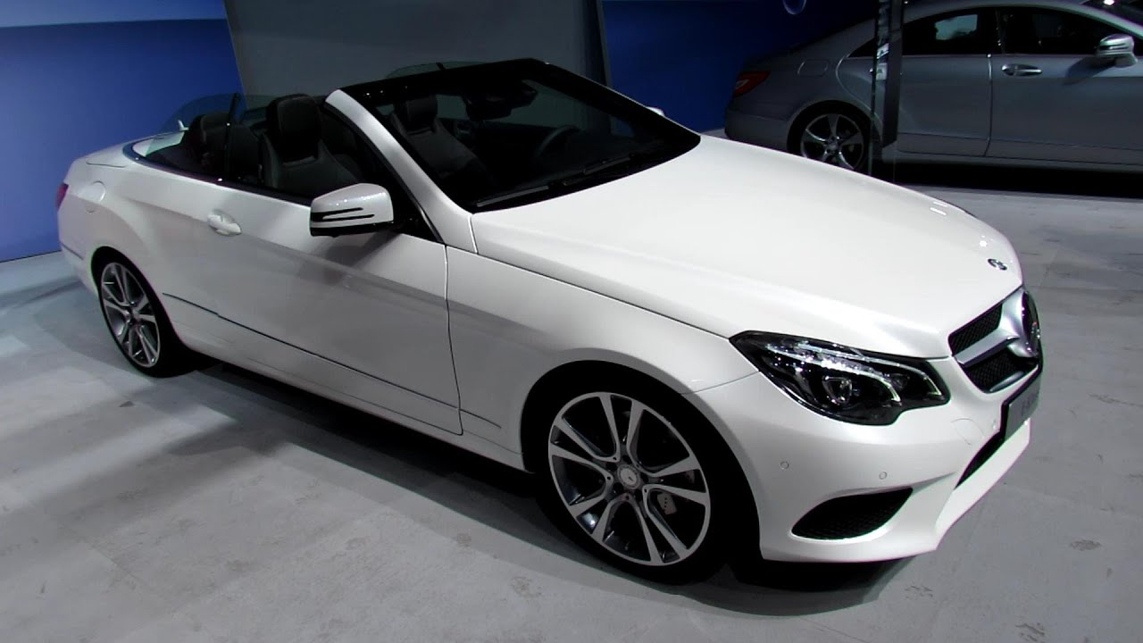 2014 mercedes benz e class e350 cabrio exterior interior. Black Bedroom Furniture Sets. Home Design Ideas