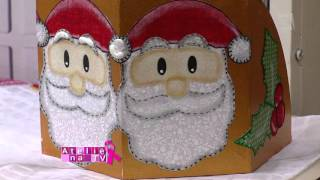 Isamara Custódio – Trilho de mesa natalino