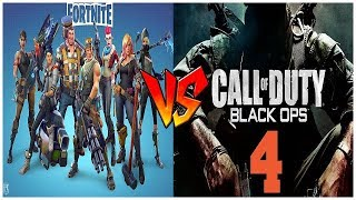 Best Game of 2018? Fortnite vs COD BO4! (Fortnite Battle Royale Victory Royale Gameplay!)