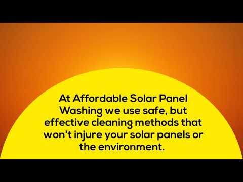 Glendale AZ Solar Panel Cleaning Service