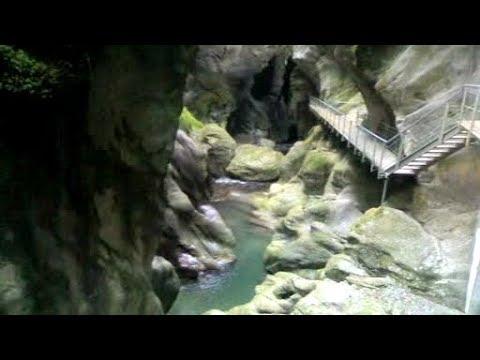 Gorges Du Pont du Diable en Haute Savoie (74)