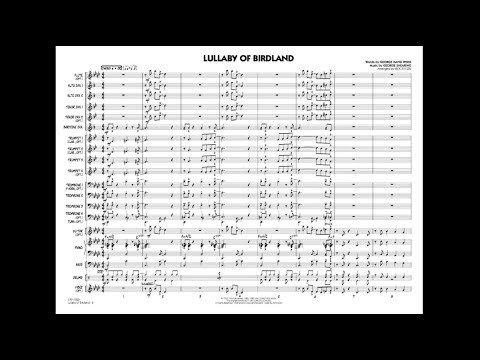 Lullaby of Birdland arranged by Rick Stitzel