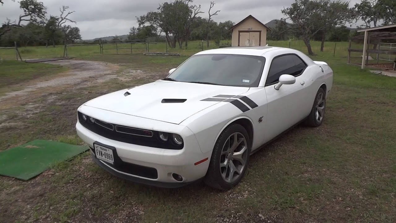 2015 Dodge Challenger Rt Review Youtube