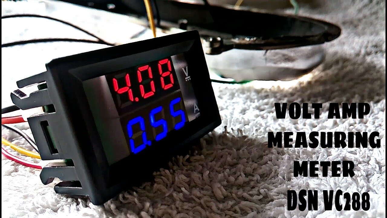 100 Amp Wiring Diagram Volt Amp Measuring Module Dc 100 Volts 10 Amps Dsn