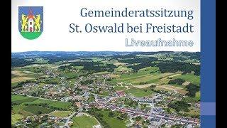 Gemeinderats Sitzung - Video vom 09.11.2017 - Marktgemeinde St. Oswald