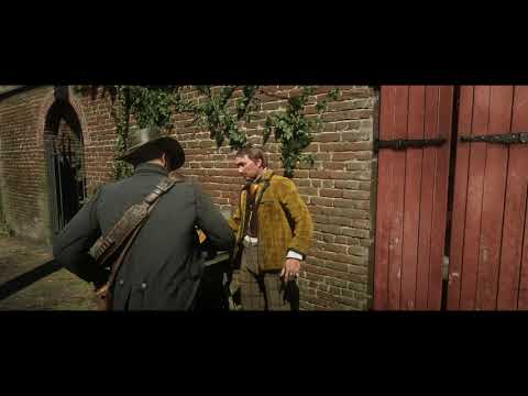 Red Dead Redemption 2 - Saint Denis: Special Character: Arthur Meets Timothy A Donahue (2018)