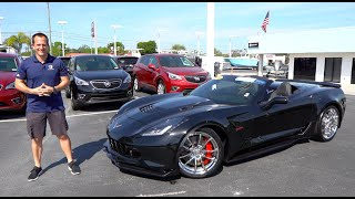 What does this C7 Corvette Grand Sport HAVE that the 2020 C8 Vette does NOT?