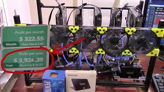 HOW TO MINE CRYPTOCURRENCY: EARN OVER $3000 WITH A MINING RIG !!!