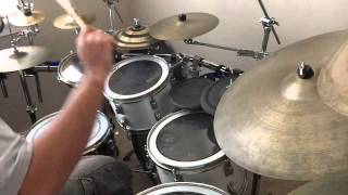 Cursed Female by Porno for Pyros drum cover