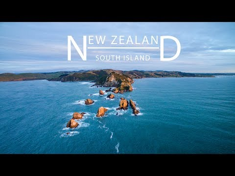 New Zealand - A year around the South Island by Phantom 3
