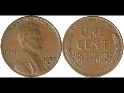 The Rare & Valuable $48,000.00 1959-D Mule Cent!!!! A Penny Worth Thousands Of Dollars