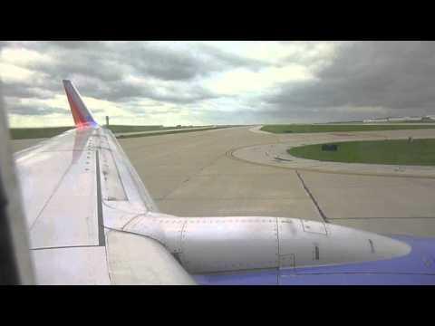 BEAUTIFULl!!! Southwest 737-700 FULL FLIGHT Kansas City,MO to Denver,CO