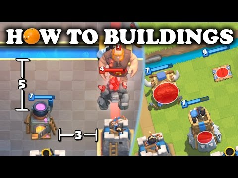 The Ultimate Building Placement Guide | Clash Royale