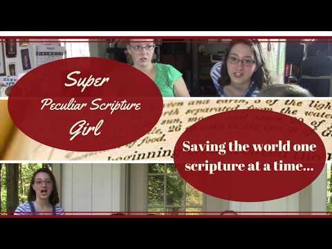 Super Peculiar Scripture Girl