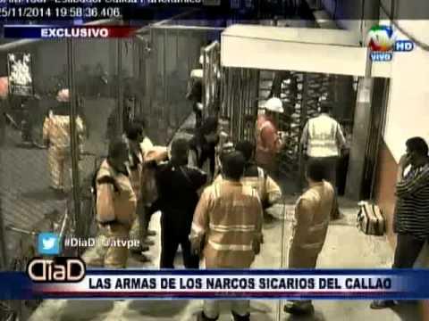 Callao: La verdad de las armas de los narco sicarios