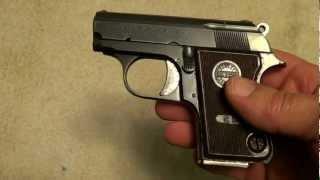 Astra Cub .22 Short semi-auto pistol